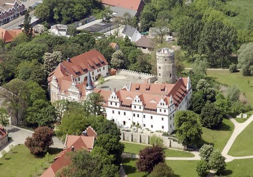 Kasteel-overnachting met je hond in Schlosshotel Schkopau - Merseburg
