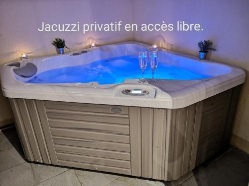 Appartement spa privé pour les séjours seul ou a deux - Apartment - Metz