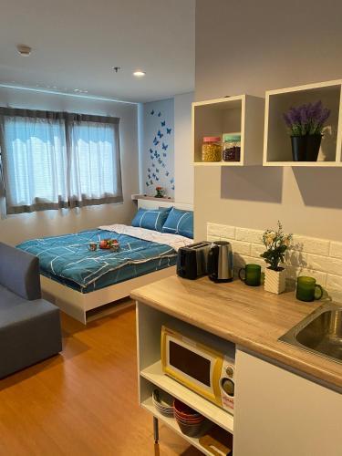 [チャアム ビーチフロント]スタジオ アパートメント(22 m²)/1バスルーム