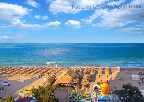 . 1-st Line Izvora Sea View Apartments on Golden Sands
