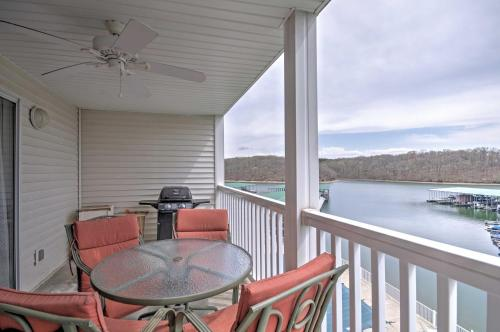 Lakefront Osage Beach Condo with Pools & Water Views