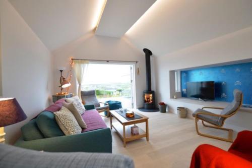 Dinas View, Harlyn Bay, Cornwall