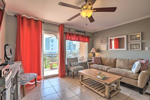 Galveston Getaway with Pool Access - Steps from Beach - Apartment - Galveston