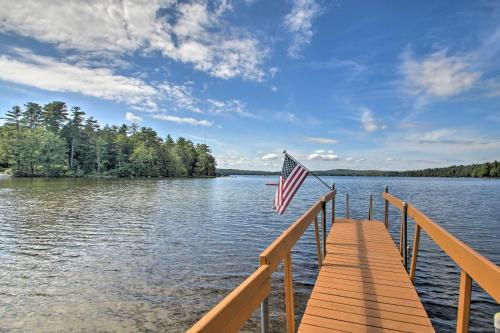 Family Cabin with Beach Access on Panther Pond - Hotel - Raymond