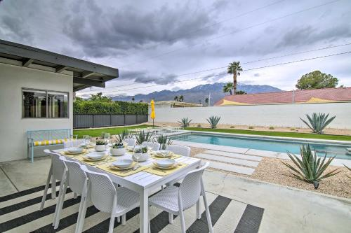 Dreamy Mid-Century Modern Pad with Pool, 3Mi to Dtwn Main image 1