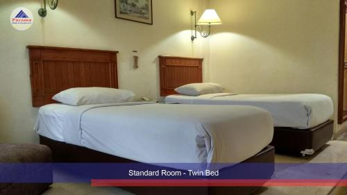 Kamar Standard Double atau Twin (Standard Double or Twin Room)
