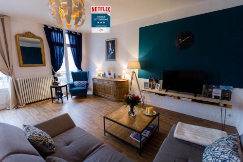 Détente, balade et thermalisme en coeur de ville - Apartment - Vichy