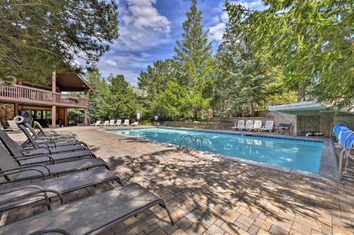 Park City Mountain Cabin with Pool and Hot Tub Access! Main image 1