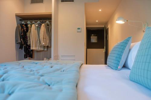 Doppel-/Zweibettzimmer mit Bergblick - Einzelnutzung IXUA hotela 1