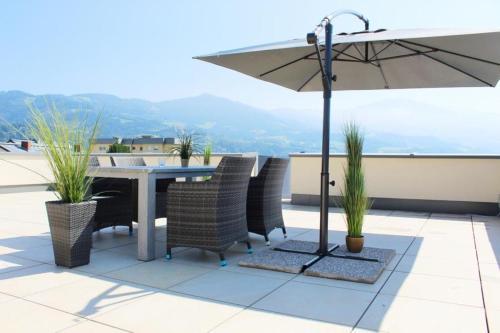 Dachterrassen Appartement Monte Lupo - Apartment - Wolfsberg