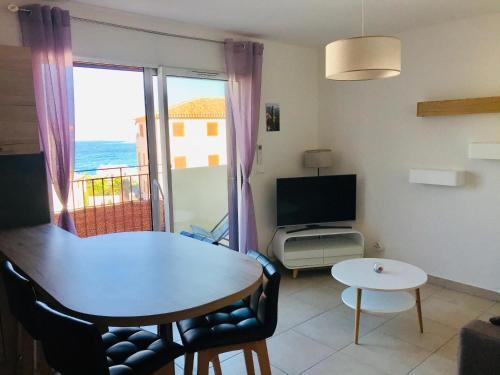 Algajola - Charmant appartement vue mer - F3 5MARE - Location saisonnière - Algajola