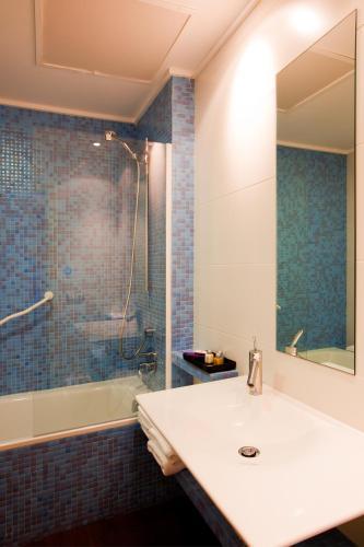 Doppel-/Zweibettzimmer mit eigener Terrasse Luces del Poniente 6