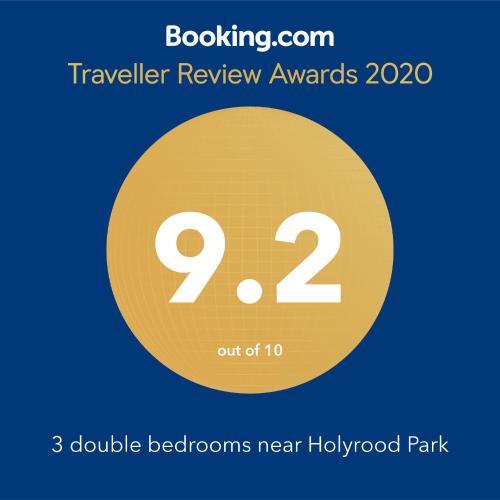 3 double bedrooms near Holyrood Park