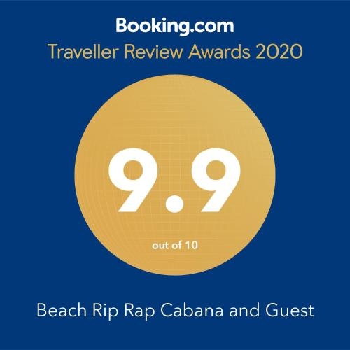 Beach Rip Rap Cabana and Guest