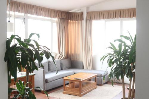 호안끼엠구의 아파트먼트 (150m², 침실 2개, 프라이빗 욕실 2개)