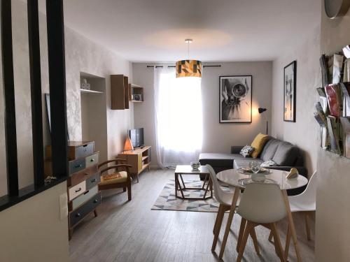 Appartement Contemporain Pont Vieux - Location saisonnière - Carcassonne