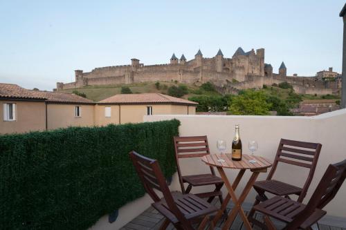 La Terrasse de Jules - Location saisonnière - Carcassonne