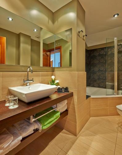 Junior Suite - single occupancy Hotel Grèvol Spa 6