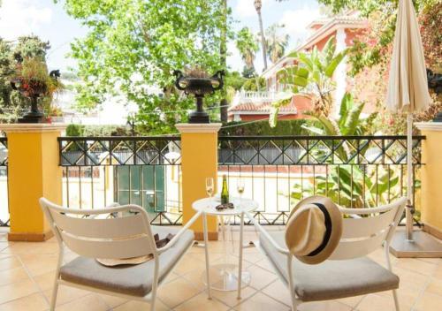 Habitación Doble con terraza - 1ª planta Hotel Boutique Villa Lorena by Charming Stay 10