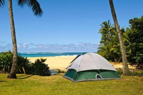 . Camping Gear Set, Car Rental Available you pick your own campsite
