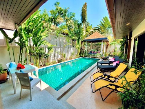 Tropical Private Pool Villa in Rawai Tropical Private Pool Villa in Rawai