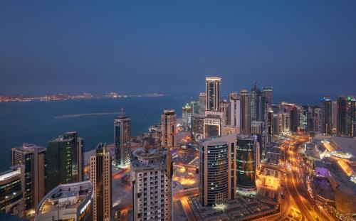 Intercontinental Doha - The City rum bilder