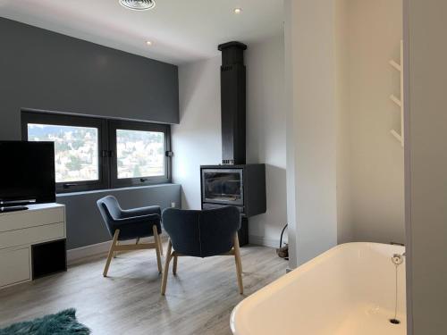 Suite with Fireplace Luces del Poniente 4