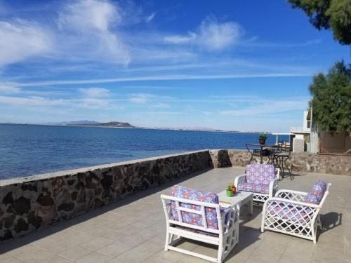 Beachfront Home Just Steps from the Water in Quiet Cholla Bay