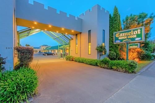 Camelot Motor Lodge and Conference Centre - Accommodation - Palmerston North