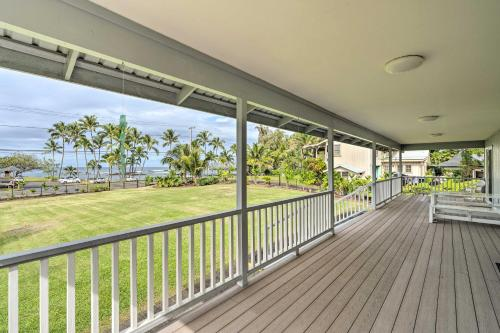 Hilo Home with Ocean View- 39 Mi to Volcanoes NP - image 3