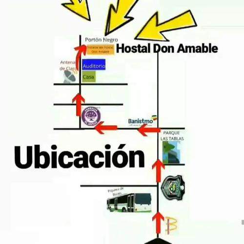 Hostal Don Amable, Las Tablas