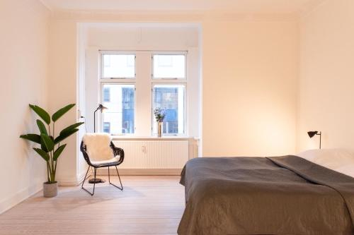 . Bright and spacious apartment in downtown Århus