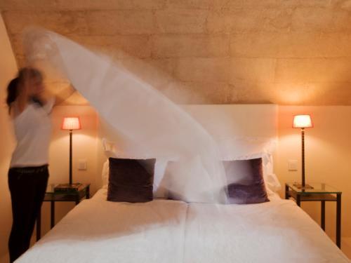 Doppelzimmer mit direktem Zugang zum Garten Hotel & Restaurant Jardi D'Artà 2