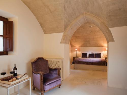 Doppelzimmer mit direktem Zugang zum Garten Hotel & Restaurant Jardi D'Artà 1