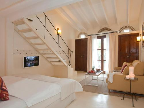 Doppelzimmer mit direktem Zugang zum Garten Hotel & Restaurant Jardi D'Artà 5