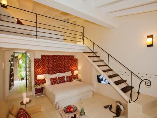 Doppelzimmer mit direktem Zugang zum Garten Hotel & Restaurant Jardi D'Artà 8