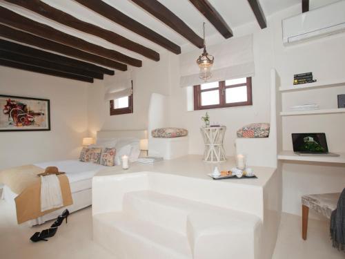 Doppelzimmer mit direktem Zugang zum Garten Hotel & Restaurant Jardi D'Artà 16