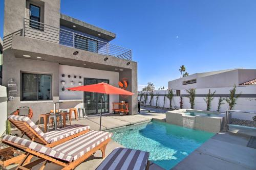 Modern Palm Springs Oasis with Mountain Views! Main image 2
