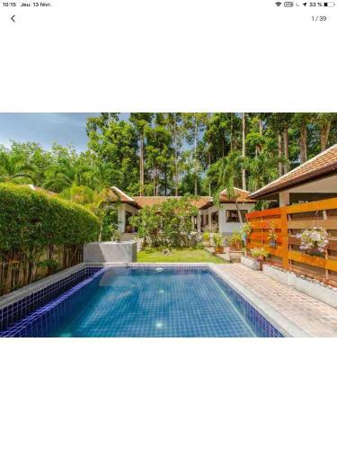 Villa avec piscine privee dans jardin tropical Villa avec piscine privee dans jardin tropical