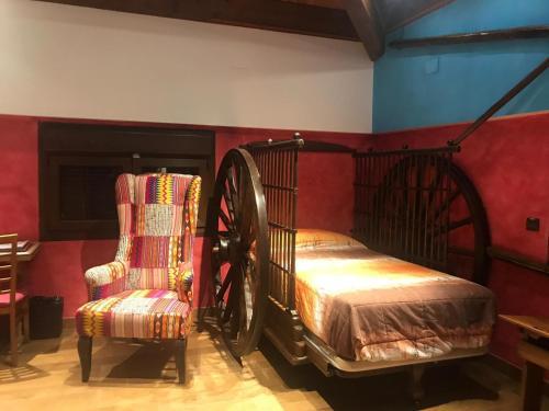 Suite de 1 dormitorio Hotel SPA Bodega El Lagar de Isilla 2