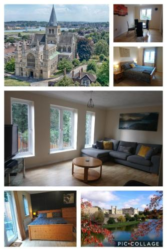 Chartwell Villa, Luxury 4 Bed In Chatham & Rochester, 40 Mins To London