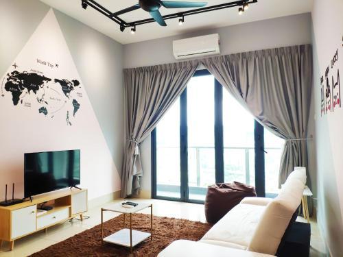One Residences, 4 pax, 5 mins to MyTOWN, Kuala Lumpur