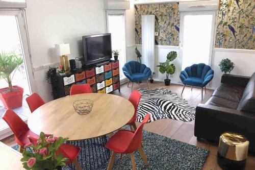 FRATELLINI 3 Bedroom bright and design - Location saisonnière - Saint-Ouen