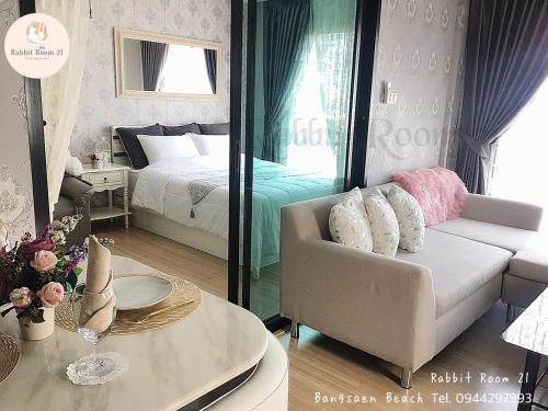 Rabbit Room 21 @Bangsaen Beach M47 Rabbit Room 21 @Bangsaen Beach M47
