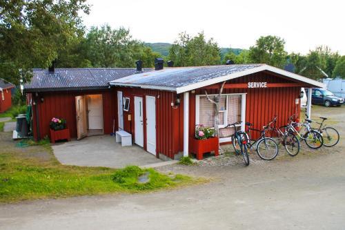 Hotel-overnachting met je hond in Lofoten Camp - Stamsund