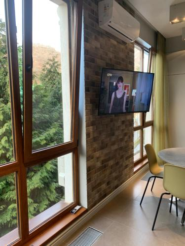 15 Grey studio views on mountains Aurora - Hotel - Krasnaya Polyana