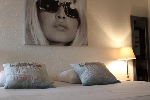 Apartment for 3 people in Saint Tropez centre, free parking - Location saisonnière - Saint-Tropez