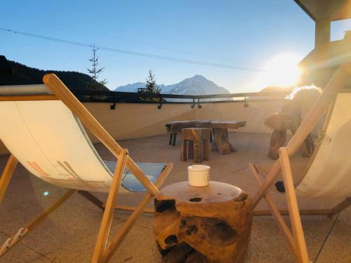 Appartement cocooning - Grande terrasse - bain nordique - DOMAINE DU PATRE - Apartment - Vaujany