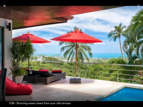 Ocean view villa - Chaweng/Bophut Ocean view villa - Chaweng/Bophut