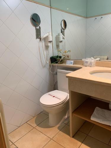 Habitación Doble Estándar con ducha - Uso individual Posada Real La Carteria 12